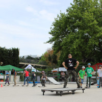 FULL TIME SKATEBOARD METHODOLOGY - ROMA GREEN SKATE DAY 2014 IMG_4690