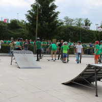 FULL TIME SKATEBOARD METHODOLOGY - ROMA GREEN SKATE DAY 2014 IMG_4750
