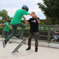FULL TIME SKATEBOARD METHODOLOGY - ROMA GREEN SKATE DAY 2014 IMG_4756