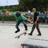FULL TIME SKATEBOARD METHODOLOGY - ROMA GREEN SKATE DAY 2014 IMG_4767