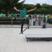 FULL TIME SKATEBOARD METHODOLOGY - ROMA GREEN SKATE DAY 2014 IMG_4776
