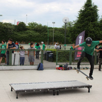 FULL TIME SKATEBOARD METHODOLOGY - ROMA GREEN SKATE DAY 2014 IMG_4787