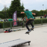 FULL TIME SKATEBOARD METHODOLOGY - ROMA GREEN SKATE DAY 2014 IMG_4794