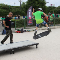 FULL TIME SKATEBOARD METHODOLOGY - ROMA GREEN SKATE DAY 2014 IMG_4799