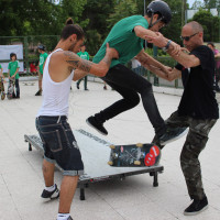 FULL TIME SKATEBOARD METHODOLOGY - ROMA GREEN SKATE DAY 2014 IMG_4813