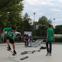 FULL TIME SKATEBOARD METHODOLOGY - ROMA GREEN SKATE DAY 2014 IMG_4857
