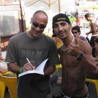 Il libro al mondiale di Skateboard 2011-10