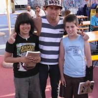 Il libro al mondiale di Skateboard 2011-11