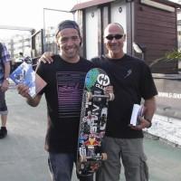 Il libro al mondiale di Skateboard 2011-15