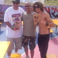 Il libro al mondiale di Skateboard 2011-16