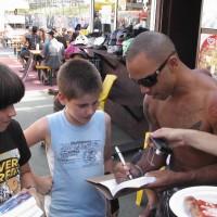 Il libro al mondiale di Skateboard 2011-23