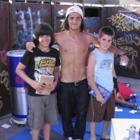 Il libro al mondiale di Skateboard 2011-24