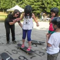 skateboard metodo full time  barbara macali frascati skating club villa torlonia 2014 DSCN5674