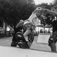 skateboard metodo full time paolo pica angelo bonanni  frascati skating club villa torlonia 2014 DSCN5713