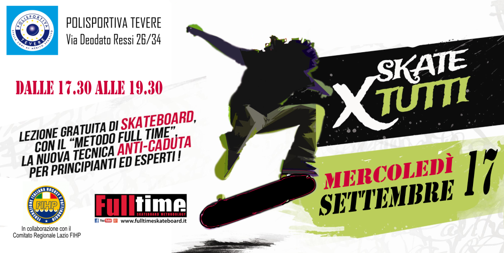 LOCANDINA EVENTO SKATE PER TUTTI 17-09-2014