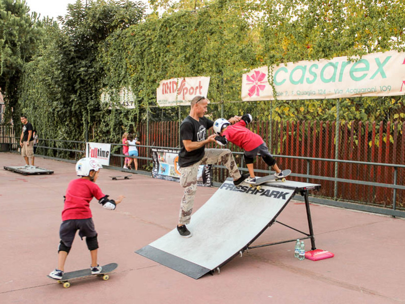 keep calm and skate one-metodo full time-Full Time Skateboard Methodology-asd stella blu roma-paolo pica-roberto verbigrazia 2