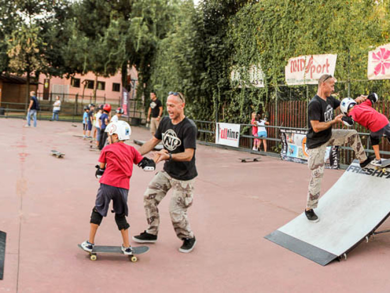 keep calm and skate one-metodo full time-Full Time Skateboard Methodology-asd stella blu roma-paolo pica-roberto verbigrazia 4