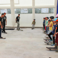 Full Time Skateboard Methodology-Paolo Pica-Simone Marcelli-Angelo Bonanni-WP worksop skateboard HSC 26-04-2015 IMG_6085