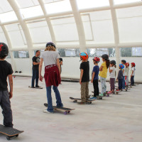 Full Time Skateboard Methodology-Paolo Pica-WP worksop skateboard HSC 26-04-2015 IMG_6083