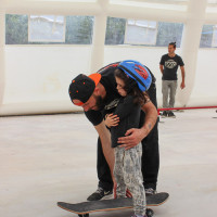 Full Time Skateboard Methodology-Simone Marcelli-Angelo Bonanni-WP worksop skateboard HSC 26-04-2015 IMG_6102