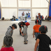 Full Time Skateboard Methodology-Simone Marcelli-Barbara Macali-WP worksop skateboard HSC 26-04-2015 IMG_6104