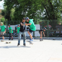 10-Full TimeSkateboard Methodology-Green Skate Day Roma 2015- Angelo Bonanni